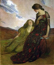 Memories, 1903 by John White Alexander | Painting Reproduction