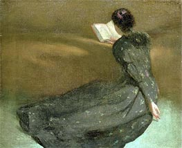 Repose, 1895 by John White Alexander | Painting Reproduction