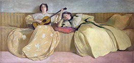 Panel for Music Room, 1894 by John White Alexander | Painting Reproduction