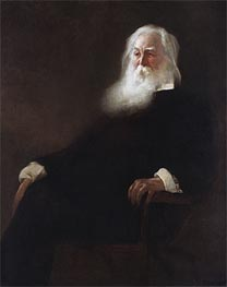 Walt Whitman, 1889 by John White Alexander | Painting Reproduction