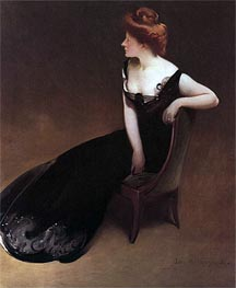 Portrait of Mrs. V (Mrs. Herman Duryea) | John White Alexander | Painting Reproduction