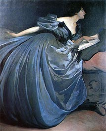Althea, 1895 by John White Alexander | Painting Reproduction
