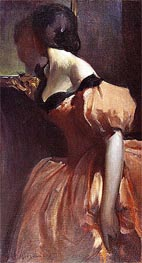 Fancy Dress, c.1894/95 by John White Alexander | Painting Reproduction