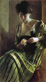 A Rose | John White Alexander | Painting Reproduction