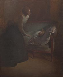 La Mere, 1900 by John White Alexander | Painting Reproduction