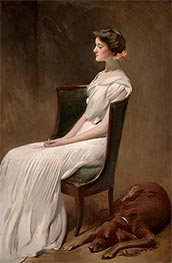 Miss Dorothy Quincy Roosevelt, c.1901/02 by John White Alexander | Painting Reproduction