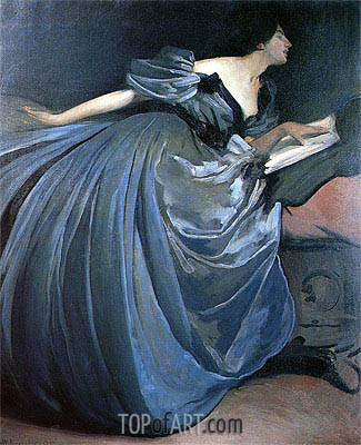Althea, 1895 | John White Alexander | Painting Reproduction