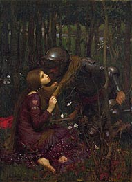 La Belle Dame Sans Merci, 1893 by Waterhouse | Painting Reproduction