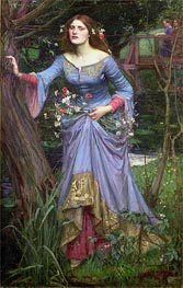 Ophelia, 1910 by Waterhouse | Painting Reproduction