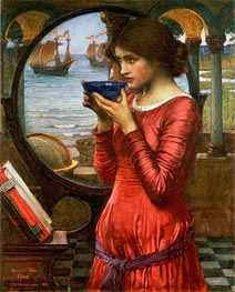 Destiny, 1900 by Waterhouse | Painting Reproduction