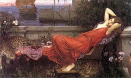 Ariadne, 1898 by Waterhouse | Painting Reproduction