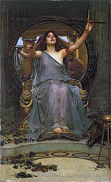 Circe Offering the Cup to Ulysses, 1891 by Waterhouse | Painting Reproduction