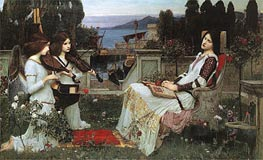 Saint Cecilia | Waterhouse | Painting Reproduction