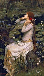 Ophelia | Waterhouse | Painting Reproduction