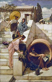 Diogenes | Waterhouse | Painting Reproduction