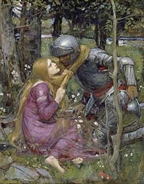 La Belle Dame Sans Merci | Waterhouse | Painting Reproduction