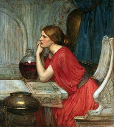 Circe, Undated von Waterhouse | Gemälde-Reproduktion