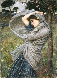 Boreas, 1903 by Waterhouse | Painting Reproduction
