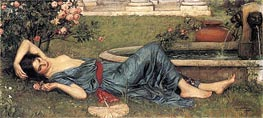 Sweet Summer | Waterhouse | Painting Reproduction