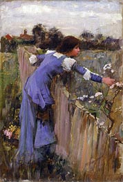 The Flower Picker | Waterhouse | Gemälde Reproduktion