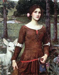 The Lady Clare | Waterhouse | Painting Reproduction