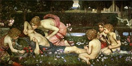 The Awakening of Adonis | Waterhouse | Painting Reproduction