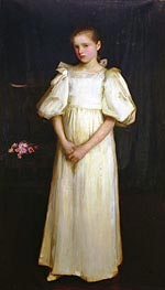 Phyllis Waterlow, 1895 by Waterhouse | Painting Reproduction