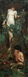 A Hamadryad, 1893 by Waterhouse | Painting Reproduction