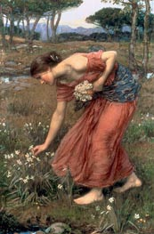 Narcissus, 1912 by Waterhouse | Painting Reproduction