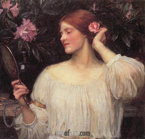 Vanity, c.1908/10 | Waterhouse | Painting Reproduction
