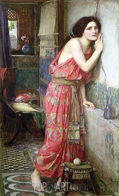 Thisbe, 1909 | Waterhouse | Painting Reproduction