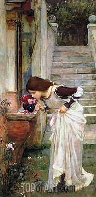 The Shrine, 1895 | Waterhouse | Painting Reproduction