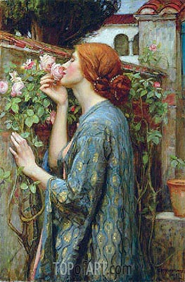 The Soul of the Rose, 1908 | Waterhouse | Gemälde Reproduktion