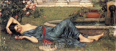 Sweet Summer, 1912 | Waterhouse | Painting Reproduction