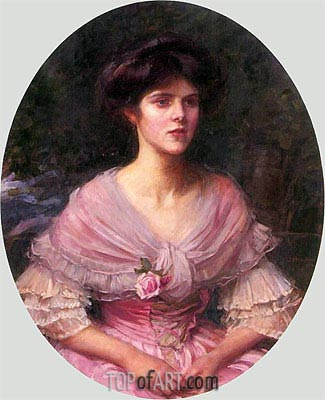 Mrs A. P. Henderson, 1908 | Waterhouse | Painting Reproduction