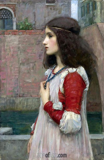 Juliet, 1909 | Waterhouse | Painting Reproduction