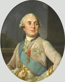Portrait of Louis XVI, c.1775/93 by Joseph-Siffred Duplessis | Painting Reproduction