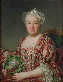 Portrait of Madame Denis | Joseph-Siffred Duplessis | Gemälde Reproduktion