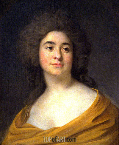 Portrait of a Woman, c.1785 | Joseph-Siffred Duplessis | Painting Reproduction