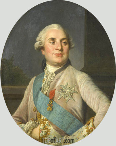 Portrait of Louis XVI, c.1775/93 | Joseph-Siffred Duplessis | Painting Reproduction