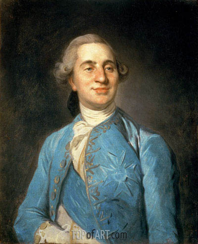 Portrait of Louis XVI, 1775 | Joseph-Siffred Duplessis | Gemälde Reproduktion