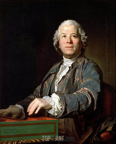 Christoph Willibald von Gluck, 1775 | Joseph-Siffred Duplessis | Painting Reproduction