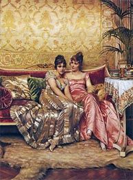 Confidences | Soulacroix | Painting Reproduction