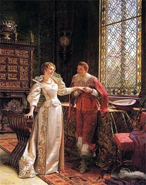 The Marriage Proposal, Undated von Soulacroix | Gemälde-Reproduktion