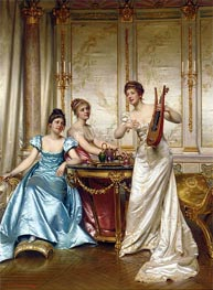 The Charming Performance | Soulacroix | Painting Reproduction