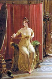 In the Dressing Room, Undated von Soulacroix | Gemälde-Reproduktion