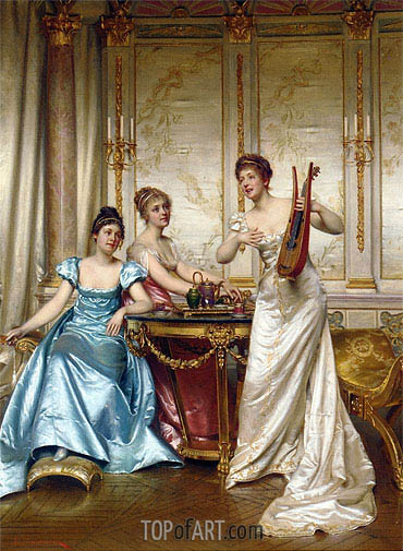 The Charming Performance, Undated | Soulacroix | Painting Reproduction