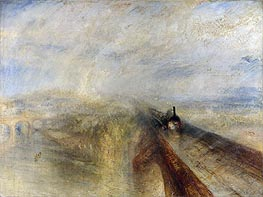 Rain, Steam and Speed - The Great Western Railway | J. M. W. Turner | Painting Reproduction