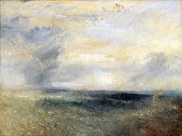 Margate from the Sea, c.1835/40 von J. M. W. Turner | Gemälde-Reproduktion