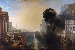 Dido Building Carthage (The Rise of the Carthaginian Empire), 1815 von J. M. W. Turner | Gemälde-Reproduktion